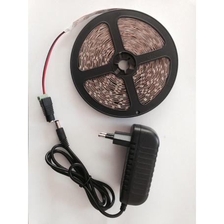 Zestyle 7m Warmweiss 3528 60LEDs/m Streifen LED Band Lichtlinie Nicht Wasserdicht und LED NETZTEIL
