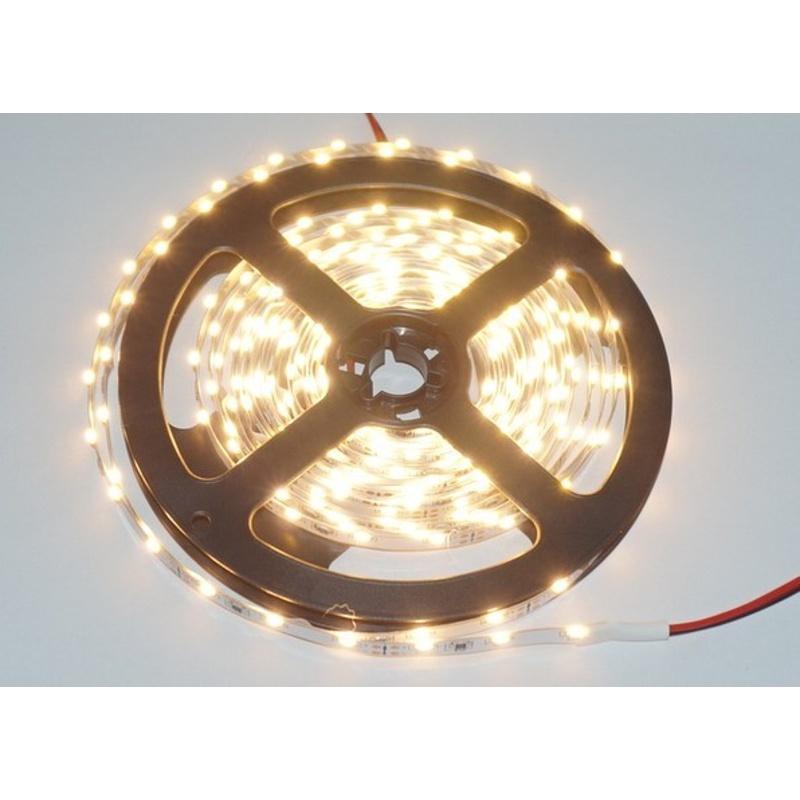 LED SMD 335 Streifen 5m. 60 LEDs/m warmweiß ca.1100 Lumen mit Netzteil 2A