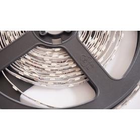 Le LED SMD 335 des bandes 5 m. 60 LEDs/m de Lumen froid blanc environ 1250 avec la partie de secteur 2A