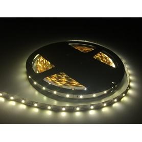 LED SMD 3528 ruban 5m. 60 LED / m blanc chaud Lumen ca.1100