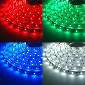 RGB LED STRIPS  3-Chip 60 LEDs/m - 500cm