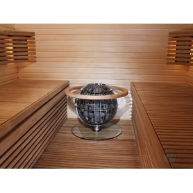 SAUNA HEATER HARVIA GLOBE, BENCH PROTECTION