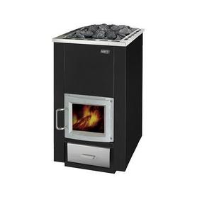 Wood Burning Sauna Heater NARVI 50 WITH GLASS DOOR