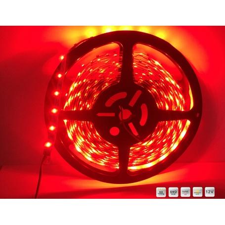 Led Streifen Smd-3528 60 Leds/M Rot -500cm - 26,75€