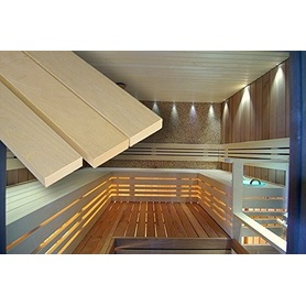 """die Saunabanklatten für Sauna Selbstbau """"ESPE"""" 28x90x1800mm"""