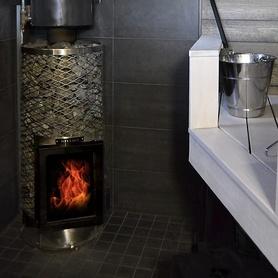 Wood Burning Sauna Heater IKI KIVI JR