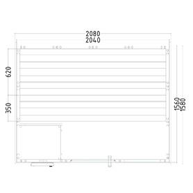 Komfort Small  208x158x204 cm