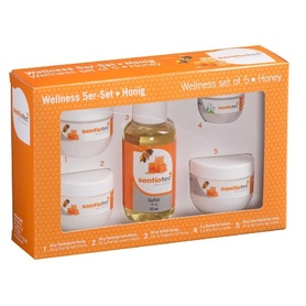 Wellness set of 5, honey