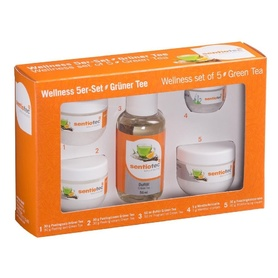 Wellness set of 5, green tea