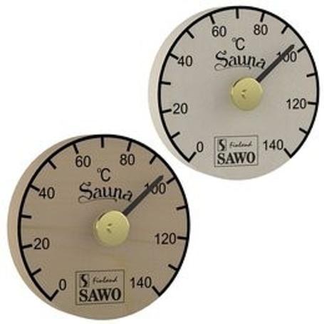 SAWO Thermometer/Hygrometer 100, rund