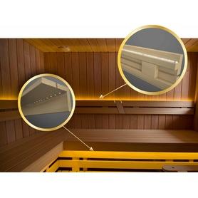 Set Saunabeleuchtung, LED-Streifen 5m. wasserdicht ip68, MIT WASSERDIHT NETZTEIL