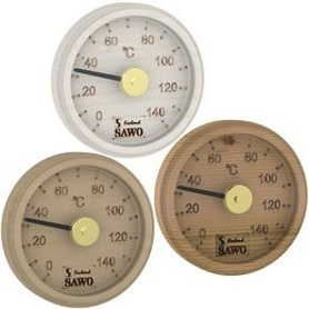 SAWO THERMOMETER 102-T, ENGRAVED ROUND