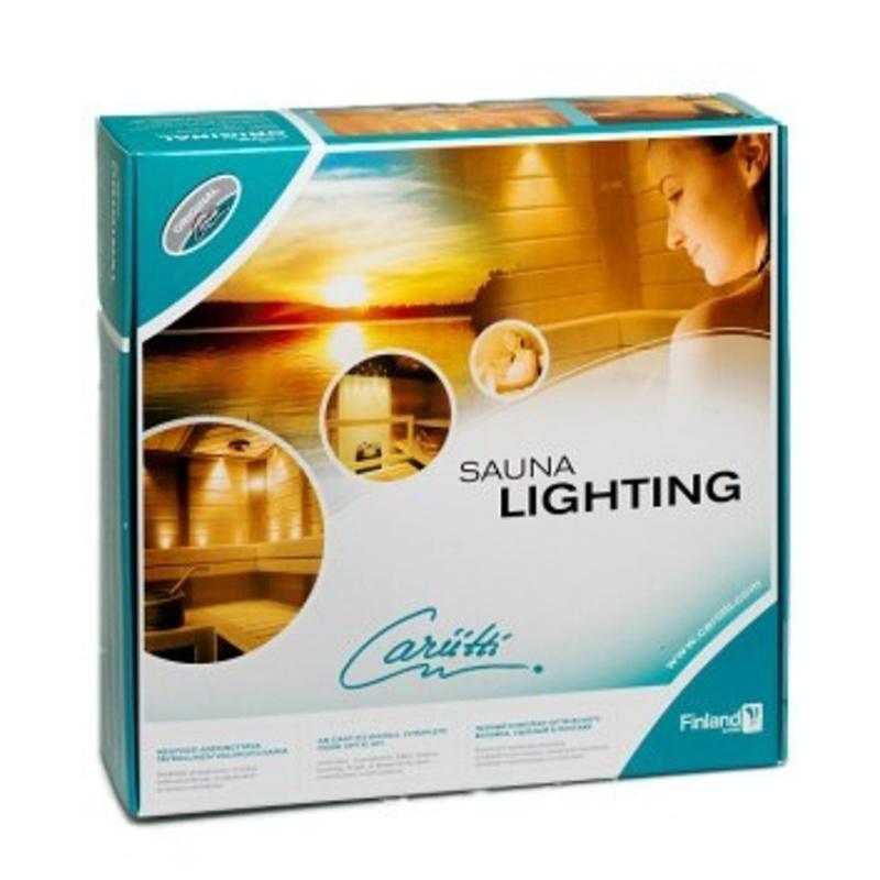 CARIITTI SAUNA LIGHTING SETS VPAC-1527-B532