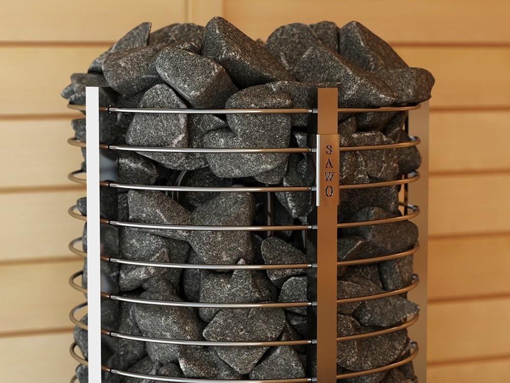 elektrische sauna fen sawo tower round th6 889 00. Black Bedroom Furniture Sets. Home Design Ideas