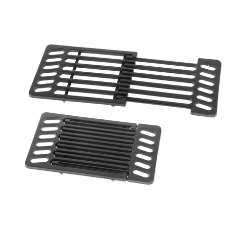 MUSTANG CAST IRON GRATE 20CM TELESCOPIC