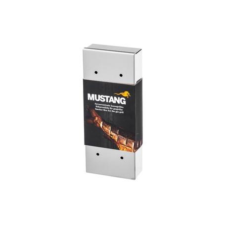 MUSTANG Räucherbox Smokerbox Edelstahl
