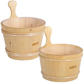HARVIA WOODEN BUCKET
