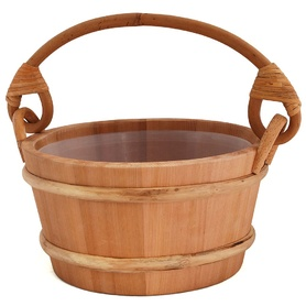 SAWO WOODEN BUCKET 341-D 4L