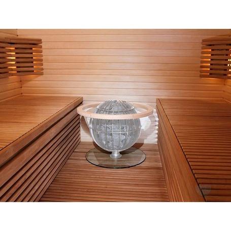 Harvia HGL8 Schutzunterlage aus Glas Für Saunaöfen Harvia Globe - €107.00