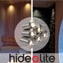 Hidealite LED Deckenleuchte PRO Silber 0,66 W, 6 Stück - 250,00€