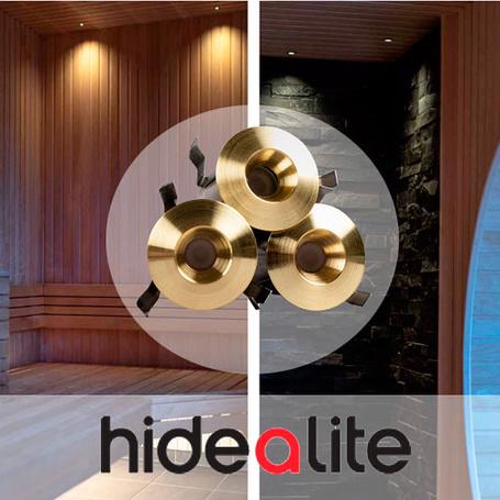 Hidealite LED Deckenleuchte PRO Gold 0,66 W, 6 Stück - 270,00€
