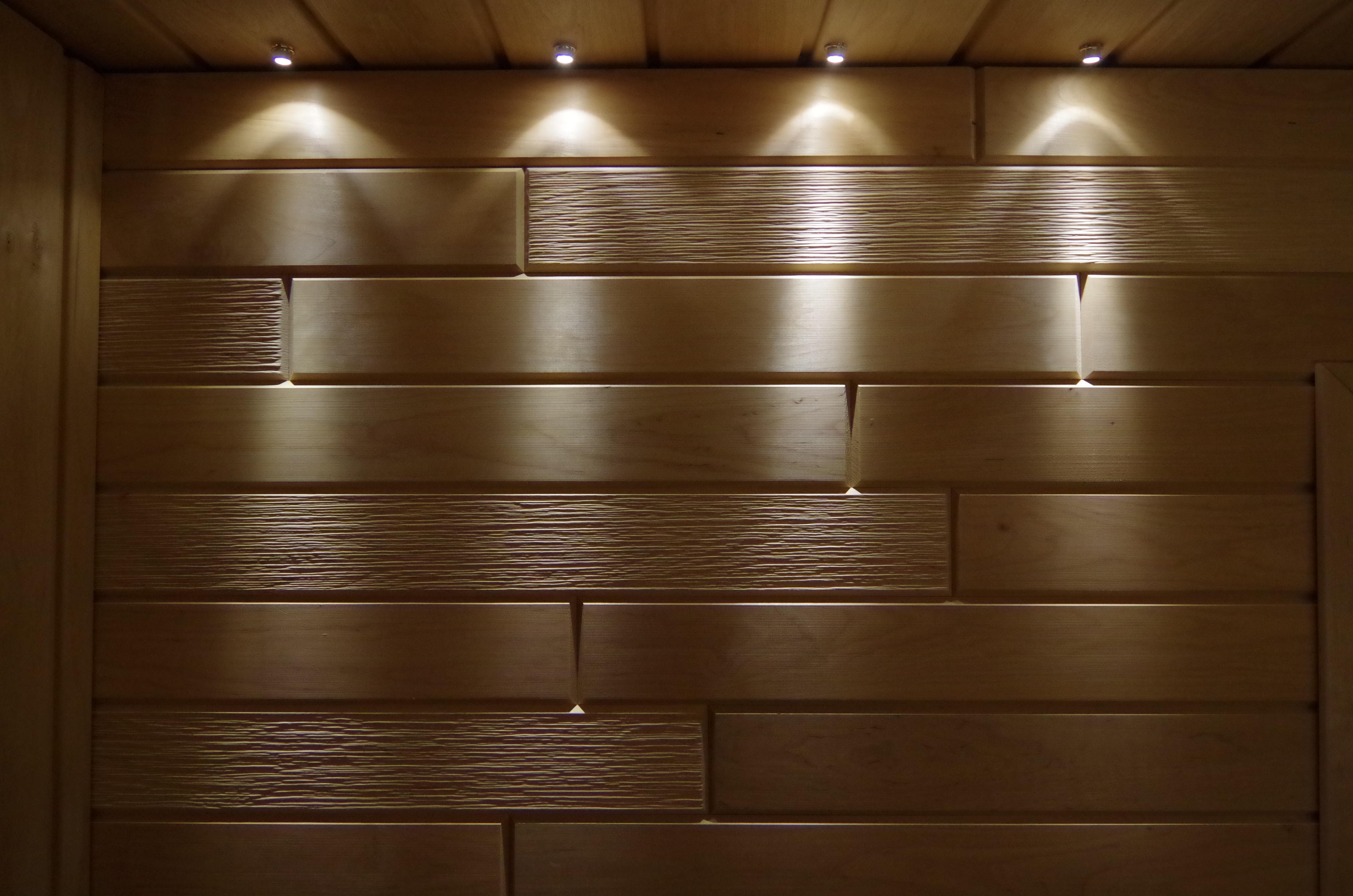 sauna led beleuchtung sun w lens modell warmwei material silber. Black Bedroom Furniture Sets. Home Design Ideas