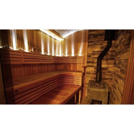 Sauna Led Beleuchtung W/L Lens Sun Gold - 110,00€