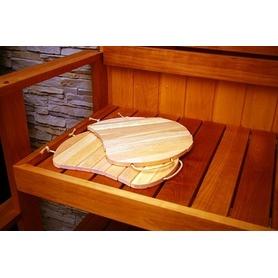 ALDER SAUNA BENCH SEAT