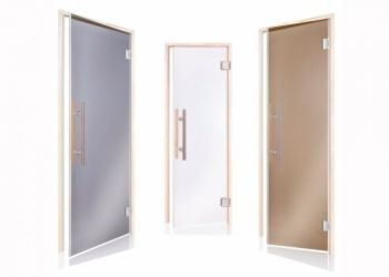 GLASS DOORS FOR A SAUNA FROM BEST PRODUCERS