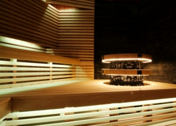OVERVIEW AND FEATURES OF INSTALLING OF LED-STRIP IN A SAUNA